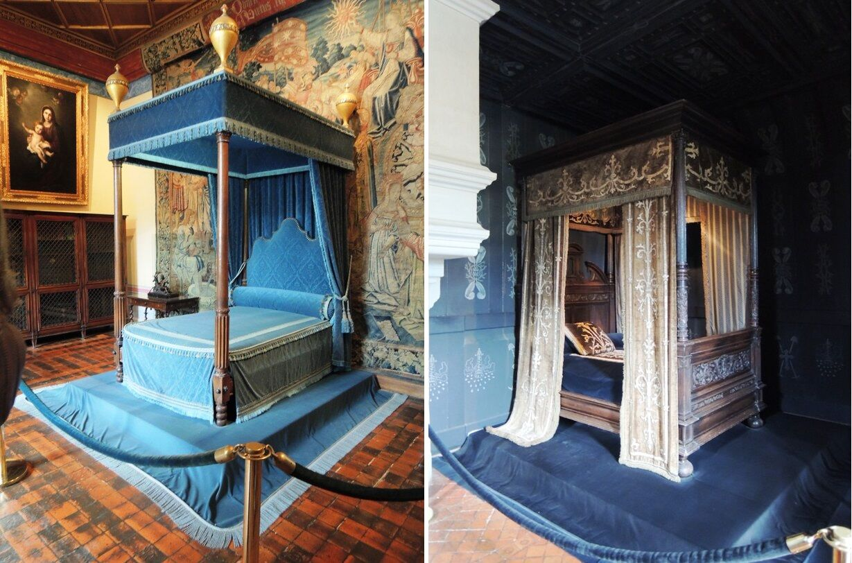 Chenonceau-interiéry