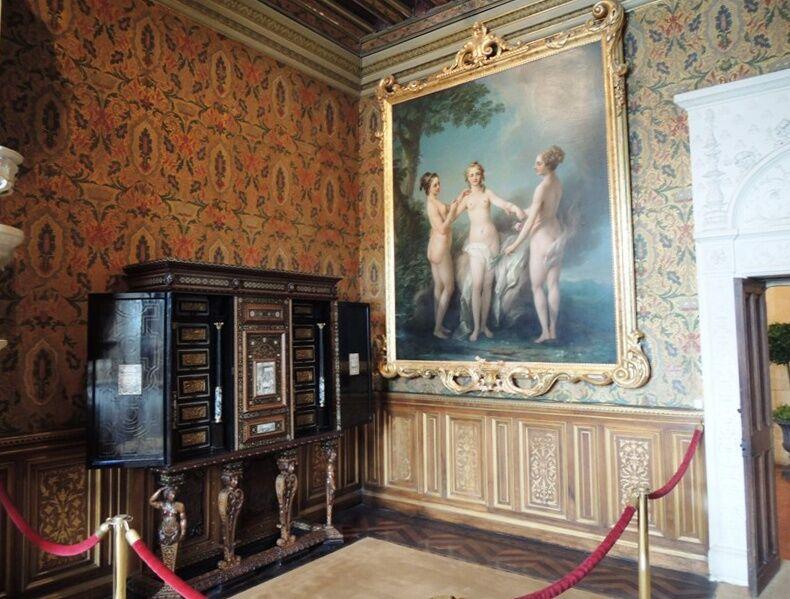 Chenonceau - interiéry