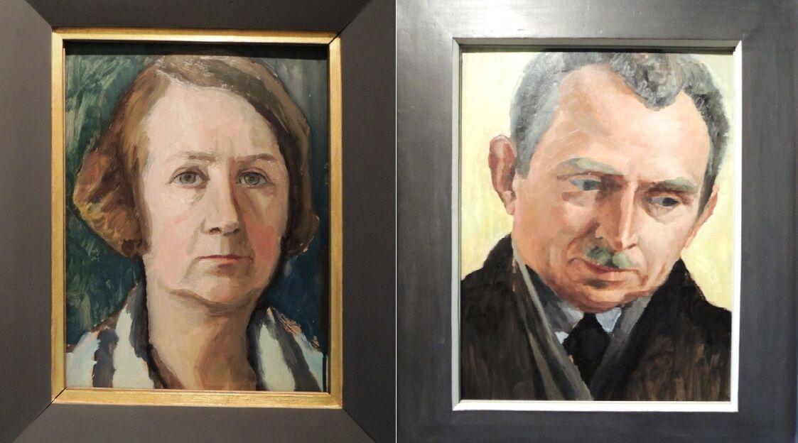 Portréty Gabriele Münter a Johanese Eichnera