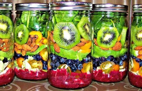 ovocné sklenice