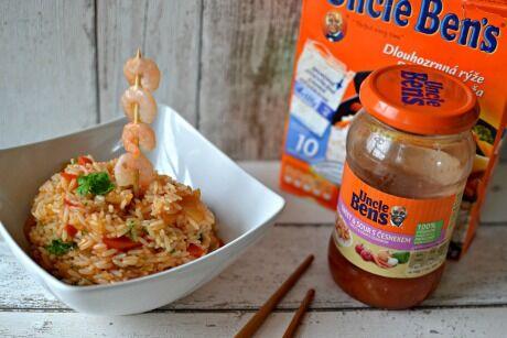 Uncle Ben´s rýže a omáčka