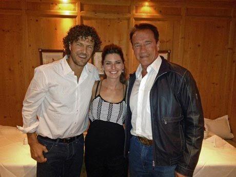 Arnold Schwarzenegger,  Shania Kids Can (zdroj: facebook)