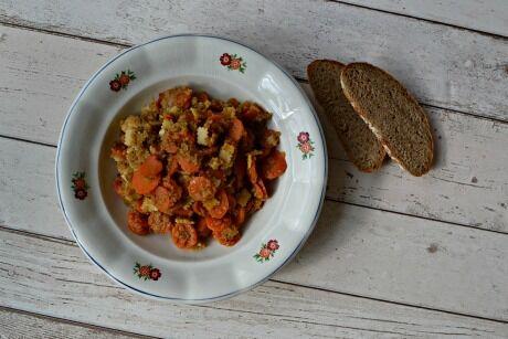 mrkev a quinoa
