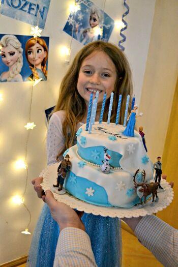 Frozen narozeninová party