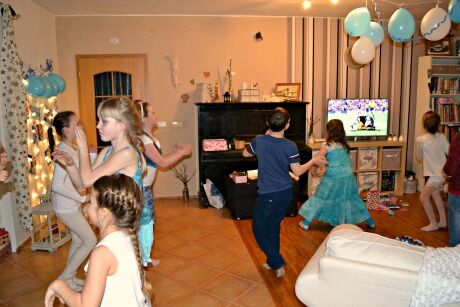 Ledové království narozeninová party