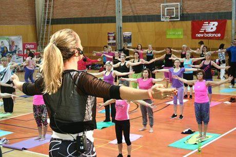 Litex aerobic show