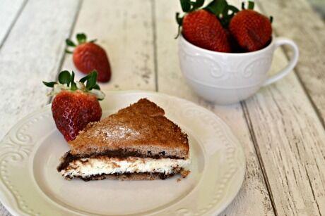 tvarohov� dort