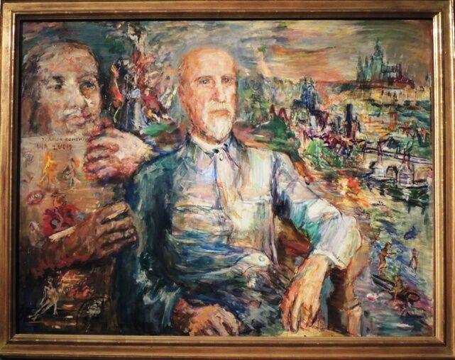 Portrét Masaryka