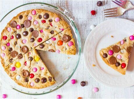lentilkový koláč pro děti