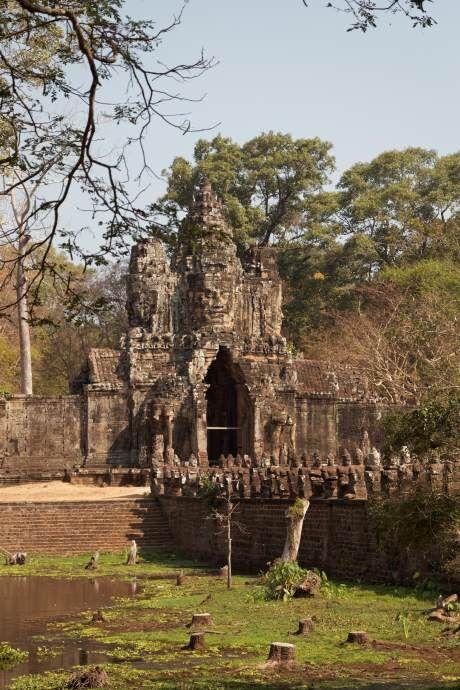 Kambodžský Angkor