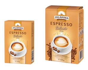 Jihlavanka Espresso Delicato