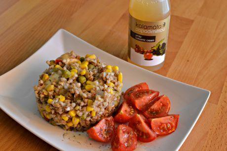 salát z pohanky a krup