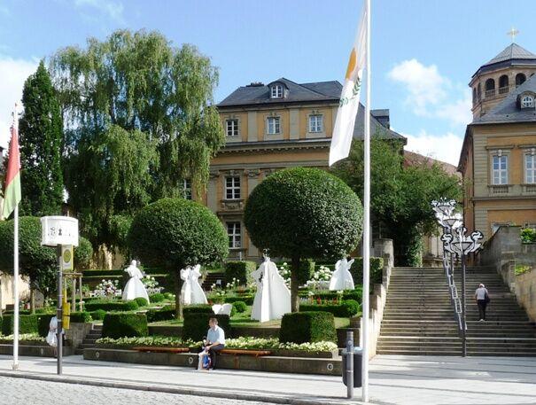 Bayreuth-festivalová výzdoba