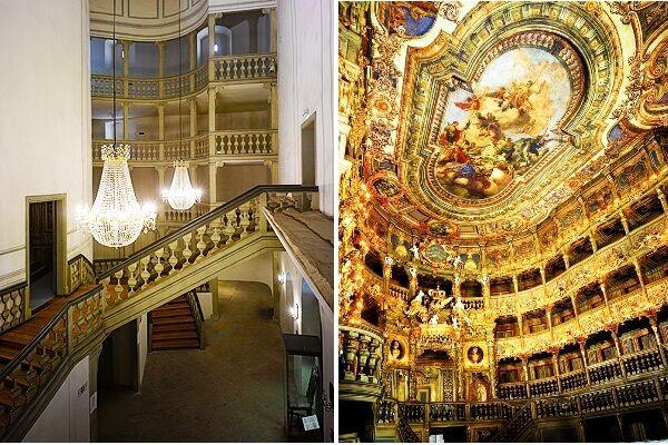Markrabská opera-interiér
