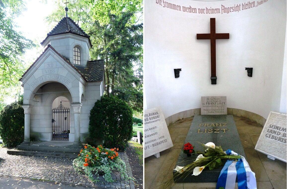 Hrobka F.Liszta