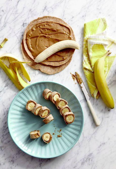 Banán s arašídovým máslem