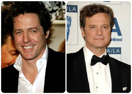 Hugh Grant a Colin Firth