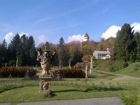 Konopiště – zámecká zahrada