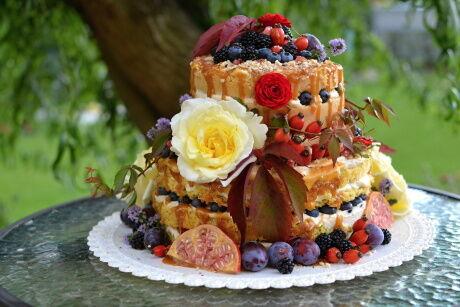 podzimn� nah� dort