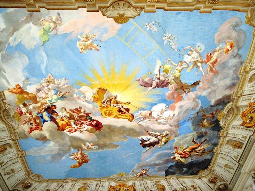 G�ttweig - fresco