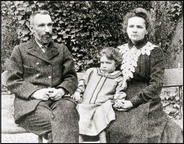 Irenka s rodiči