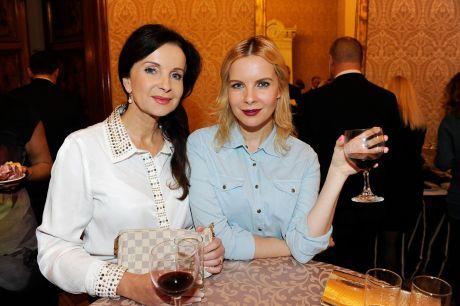 Kristelová s maminkou