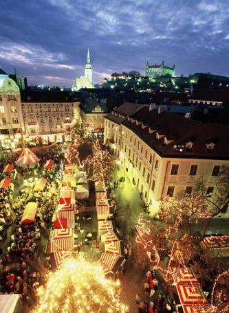 Bratislava o Vánocích