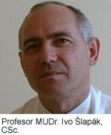 profesor MUDr. Ivo Šlapák, CSc.