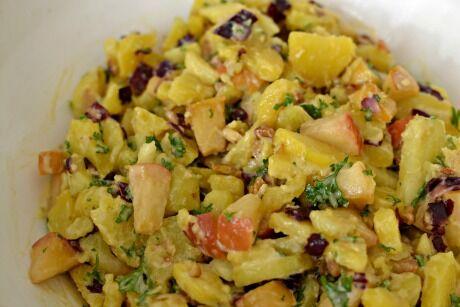podzimní bramborový salát