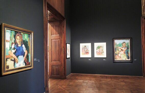 Z výstavy Klimt, Schiele, Kokoschka a ženy
