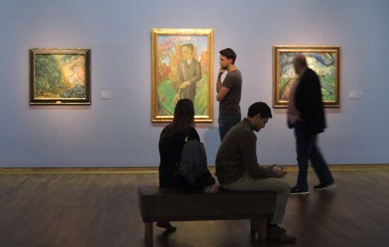 Z výstavy německých expresionistů