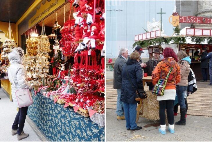 Vánoční trhy u Belvederu