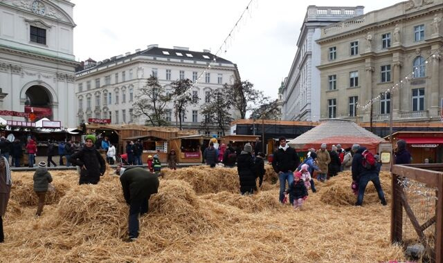 Vánoční trhy na Karsplatzu