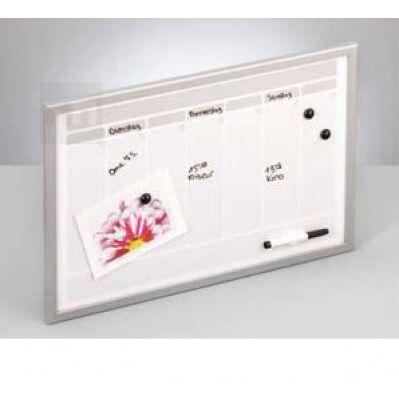 bílá magnetická plánovací tabule