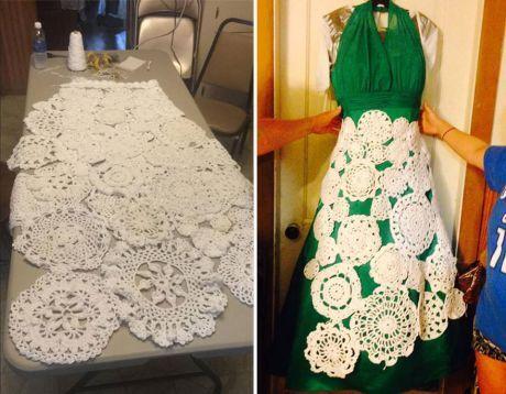 944f39ec0bf Originální háčkované šaty ji vyšly v přepočtu ani ne na dva tisíce korun.  Líbí se vám