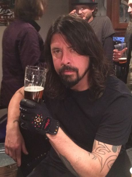 dave grohl cheers