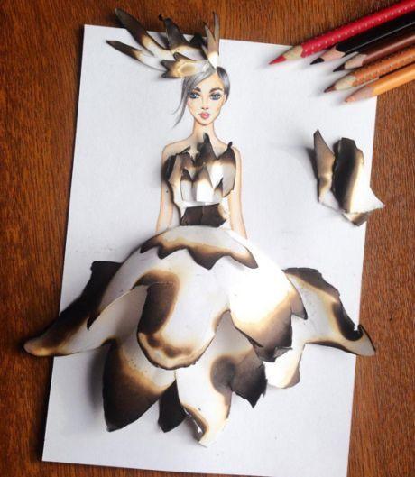 art šaty 2