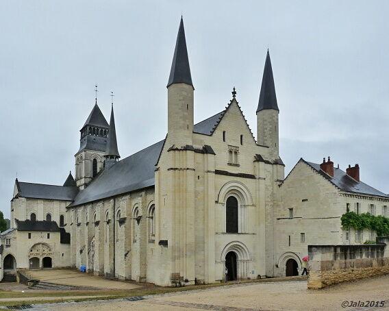 Klášterní kostel ve Fontevrault