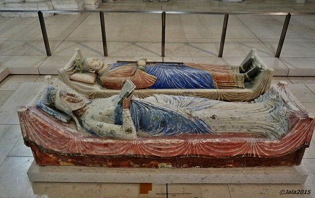 Náhrobek Eleonory a Jindřicha