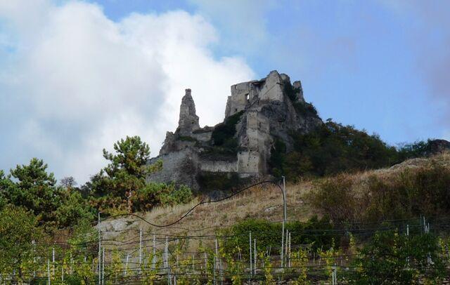 Dürnstein - ruiny hradu