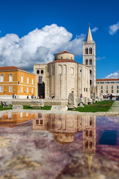 Zadar, foto Ivan Coric pro Chorvatské turistické sdružení