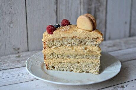 karamelov� dort