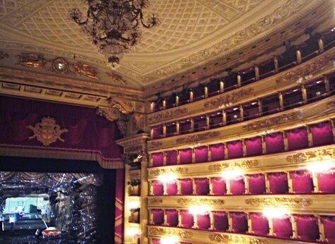 La Scala interiér