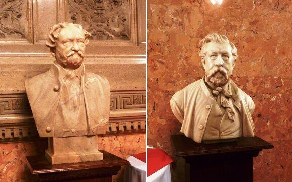 Budapesti operaház-busty