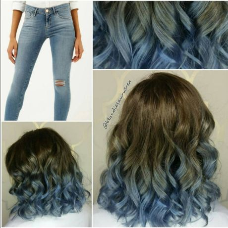denim hair 5