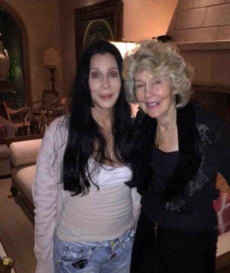 cher and mom