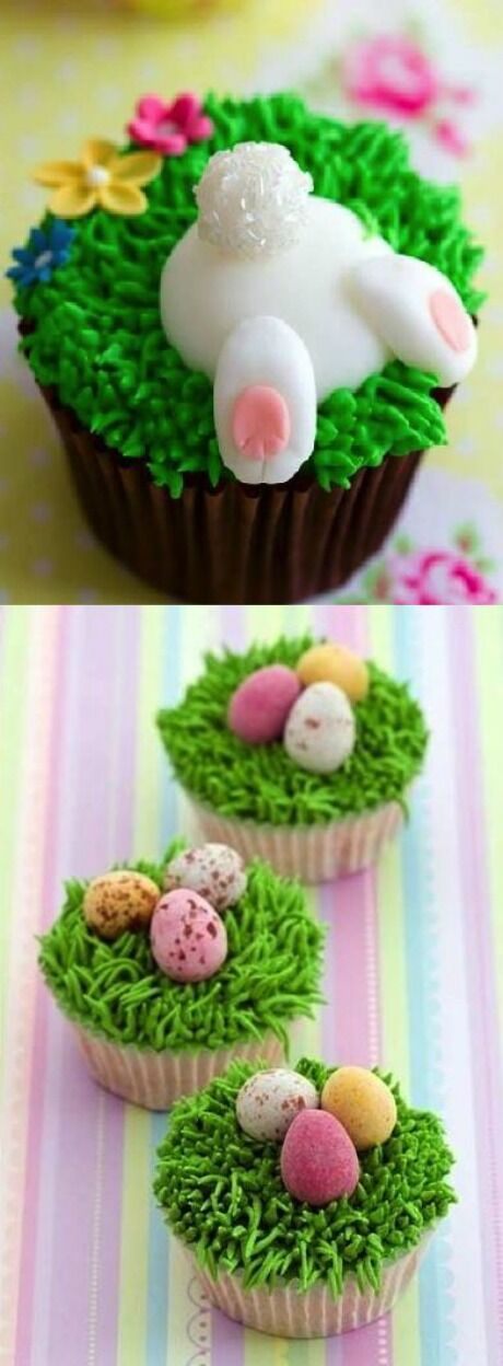 jarní cupcaky