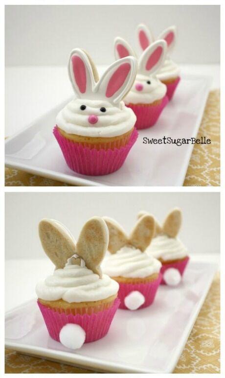 zajíčky cupcaky