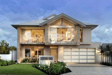 skleněný dům