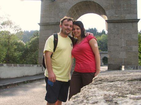 Jana Bojčuková s manželem, foto: archiv Jany Bojčukové